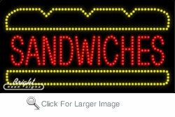 Sandwiches LED Sign