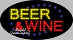 Beer & Wine LED Sign