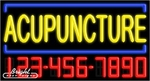Acupuncture Neon w/Phone #