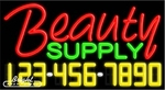 Beauty Supply Neon w/Phone #