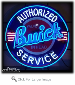 Buick Service Neon Sign only $399 99 Neon Auto Brands Signs #0: yhst 2268