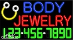 Body Jewelry Neon w/Phone #