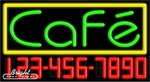 Caf� Neon w/Phone #