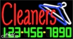 Cleaners Neon w/Phone #