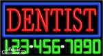 Dentist Neon w/Phone #