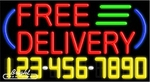 Free Delivery Neon w/Phone #