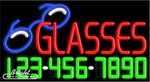 Glasses Neon w/Phone #