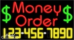 Money Order Neon w/Phone #