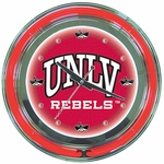 University of Nevada Las Vegas Neon Clock