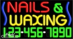 Nails & Waxing Neon w/Phone #