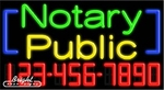 Notary Public Neon w/Phone #