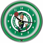 Boston Celtics NBA Neon Clock