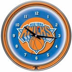 New York Knicks NBA Neon Clock