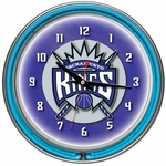 Sacramento Kings NBA Neon Clock