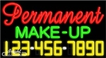 Permanent Make-Up Neon w/Phone #