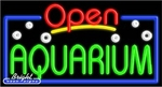 Aquarium Open Neon Sign