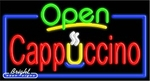 Cppuccino Open Neon Sign