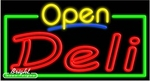Deli Open Neon Sign