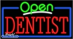 Dentist Open Neon Sign