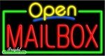 Mailbox Open Neon Sign