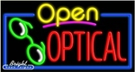 Optical Open Neon Sign