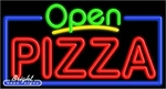 Pizza Open Neon Sign