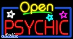 Psychic Open Neon Sign