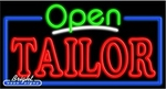 Tailor Open Neon Sign