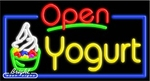 Yogurt Open Neon Sign