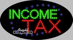 Income Tax LED Sign