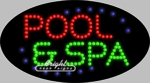 Pool & Spa LED Sign