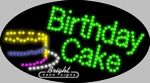 Birthday Cake LED Sign