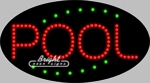 Pool LED Sign