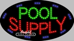 Pool Supply LED Sign
