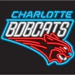 Charlotte Bobcats Neon Sign