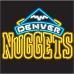 Denver Nuggets Neon Sign