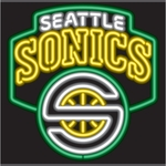 Seattle Supersonics Neon Sign