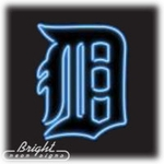 Detroit Tigers Neon Sign