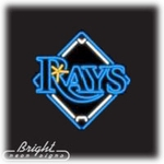 Tampa Bay Devil Rays Neon Sign