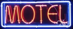 Motels Neon Sign
