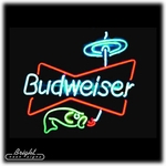 Budweiser Fishing Neon Sign