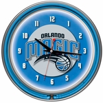 Orlando Magic NBA Neon Clock