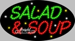 Salad Soup LED Sign