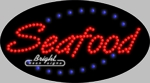 Seafood LED Sign
