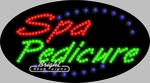 Spa Pedicure LED Sign