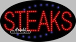 Steaks LED Sign