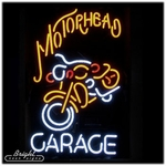 Motorhead Garage Neon Sign