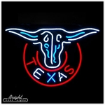 Texas Longhorn Neon Sign
