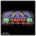 Home Theatre Neon Sign