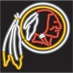 Washington Redskins Neon Sign